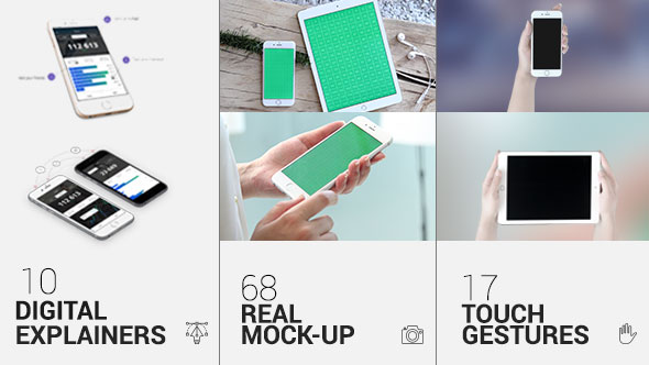 iTouch 2 | App Promo Mock-Up Kit