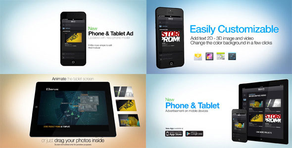 Phone Tablet Advertisement