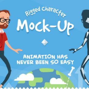 20 Eye-catching 2D & 3D Character Based Animation AE Templates