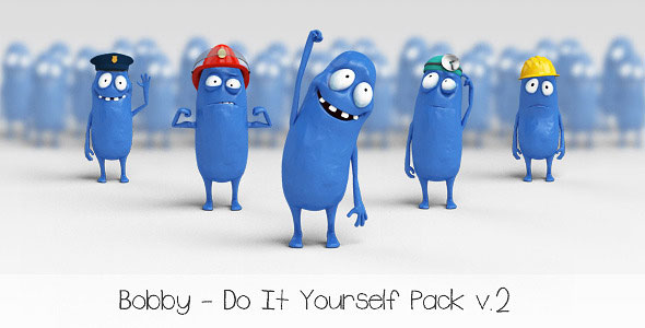 Bobby - Character Animation DIY Pack
