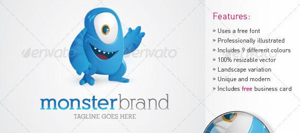 Monster Brand Logo Design