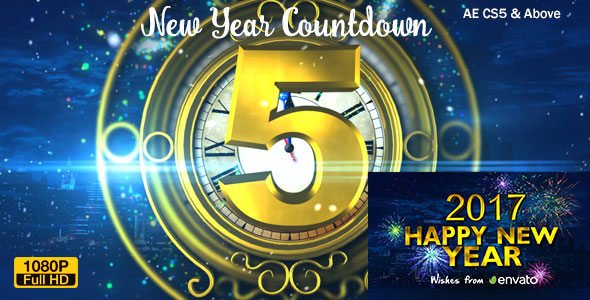 New Year Countdown 2017