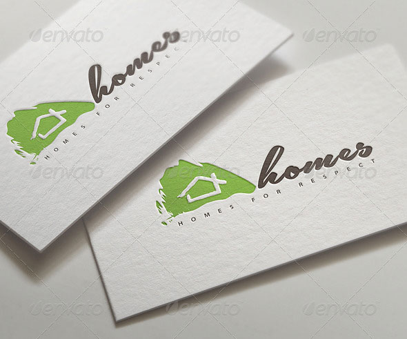 Homes | Real Estate | Logo Template