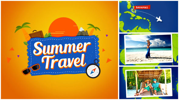 Summer Travel Map Gallery