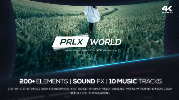 Parallax World - Professional Parallax Slideshow Creator
