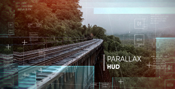 Parallax HUD Slideshow
