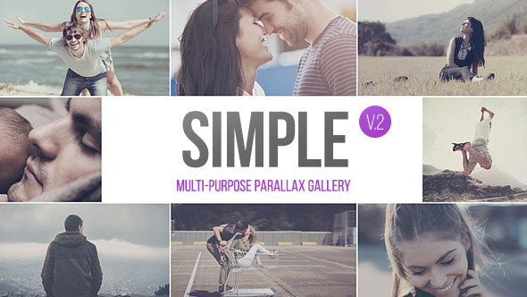 SIMPLE v.2 - Parallax Photo Gallery | 2.5k