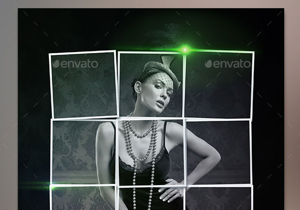 Elegant Collage Photo Template