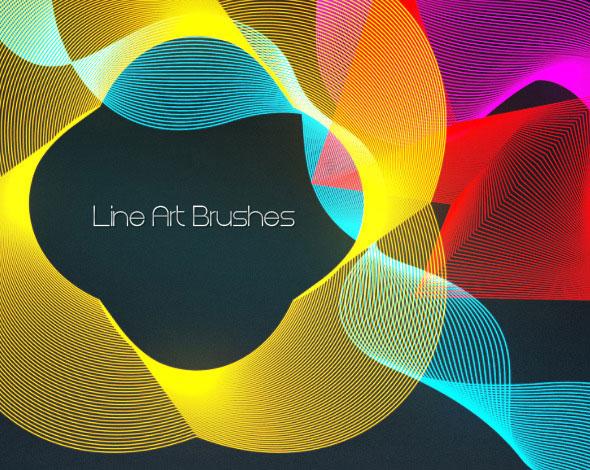 Line Art Brushes