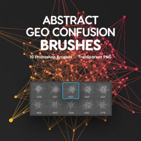 20 Amazing Abstract & Geometric Photoshop Brushes