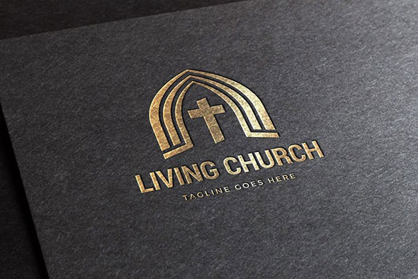 Living Church Logo Template