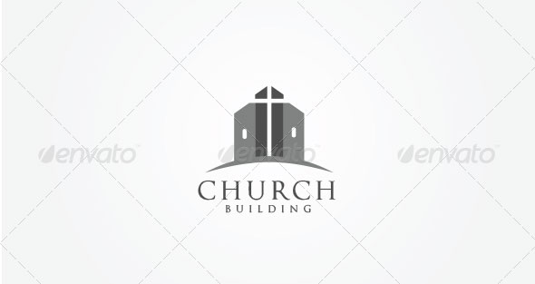 Church Building Logo