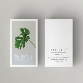 25 Minimal Business Card Templates 2017