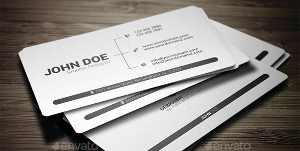 Minimal Business Card 2