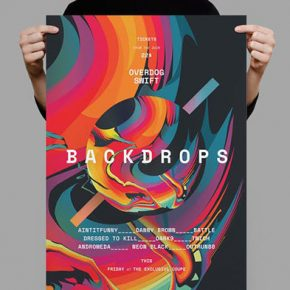 25 Amazing Abstract Poster Design Templates