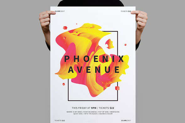 Phoenix Avenue Poster / Flyer
