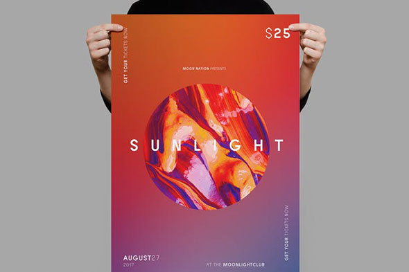 Sunlight Flyer / Poster Template