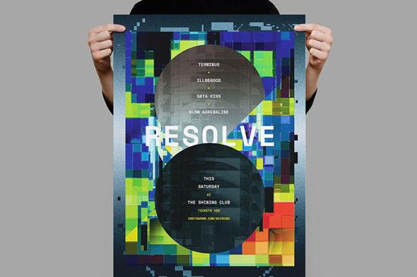 Resolve Poster / Flyer