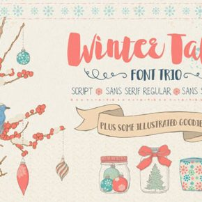 25 Wonderful Christmas Fonts 2017