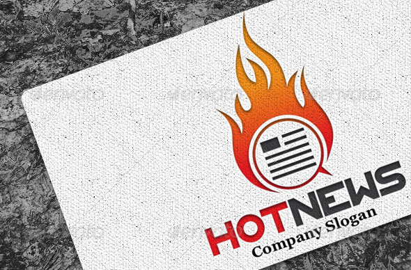 Hot News Logo
