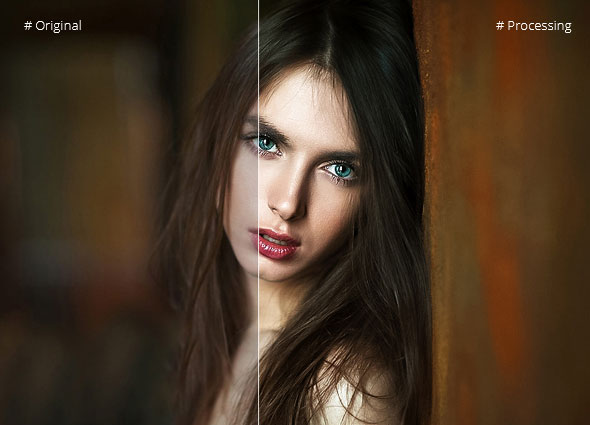 Photoshop Portrait Actions