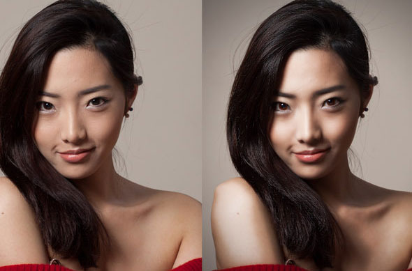 Photo Retouching PSD Action