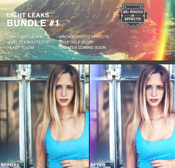 Light Leaks Bundle #1