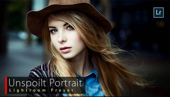 Unspoilt Portrait Lightroom Preset