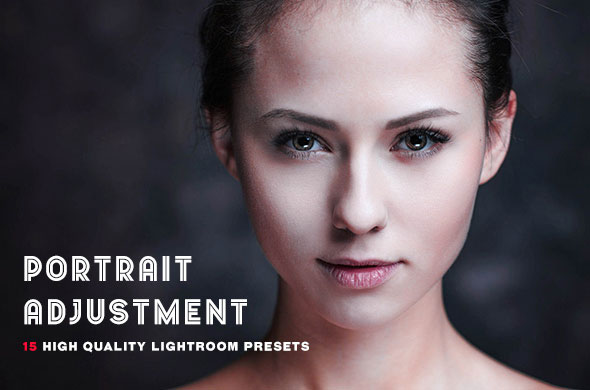 15 Portrait Adjustment Lighhtroom Presets