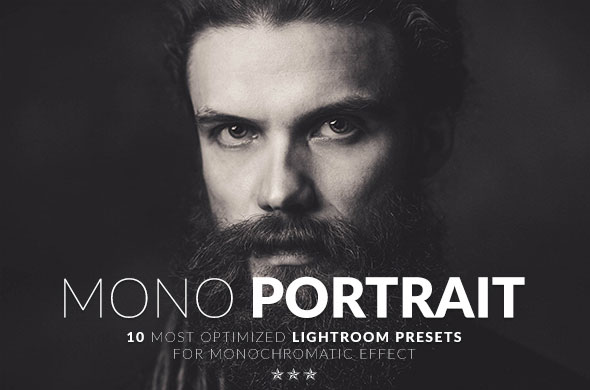 Mono Portrait Lightroom Presets