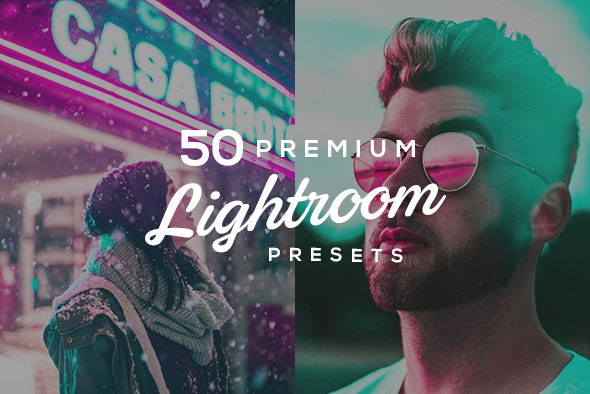 50 Premium Lightroom Presets
