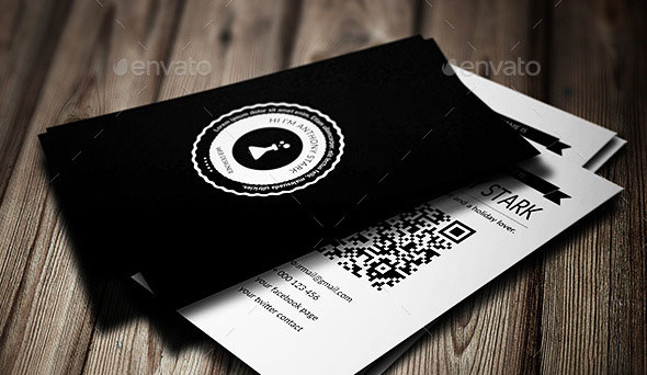 DesignLab Business Card - Simple & Retro