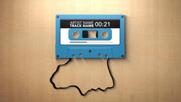 Cassette Music Visualizer