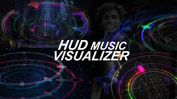 HUD Music Visualizer