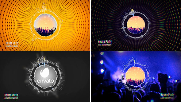 Circle Spectrum Music Visualizer