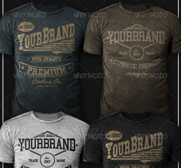 Modern Vintage T-Shirt 01