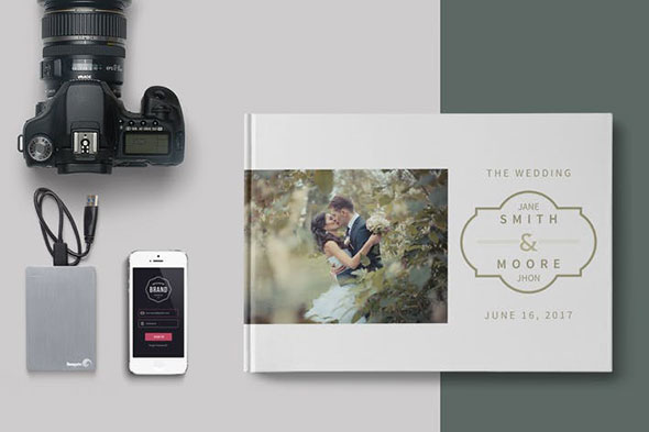 Simple Wedding Album