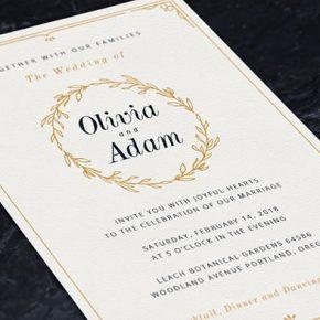 20 Beautiful Wedding Photo Album & Invitation Templates