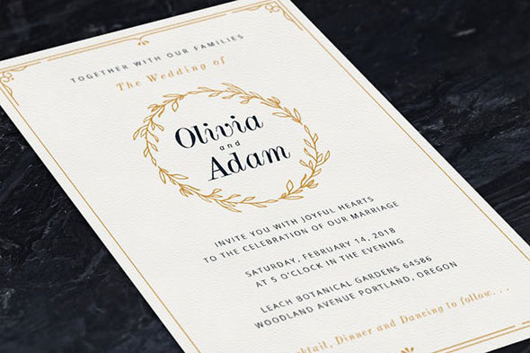 Beautiful Wedding Invitation Templates: 20 Beautiful Wedding Photo Album & Invitation Templates