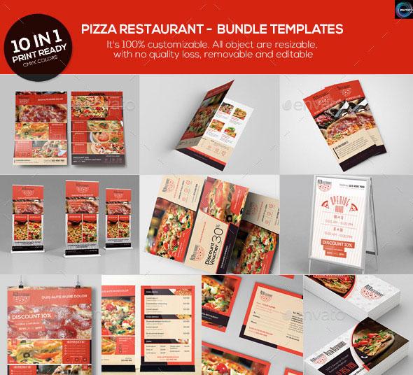 Pizza Restaurant - Bundle Templates