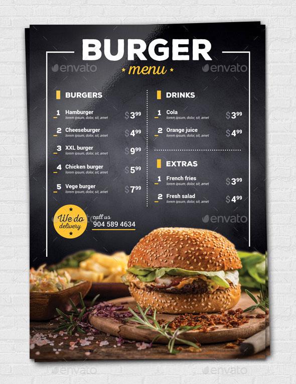 Burger / Pizza Flyer
