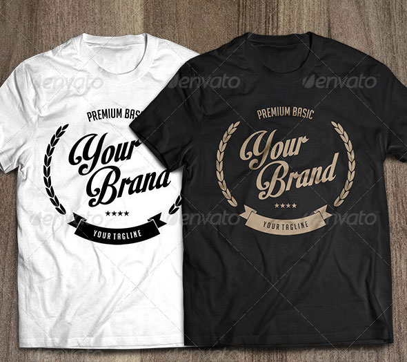 22 black white t shirt design templates eps psd pixel curse. Black Bedroom Furniture Sets. Home Design Ideas