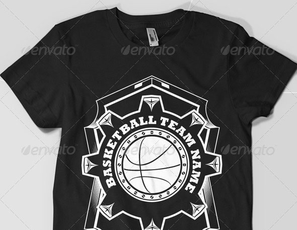 Basket Ball Team T-Shirt