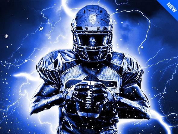 Thunder Photoshop Action