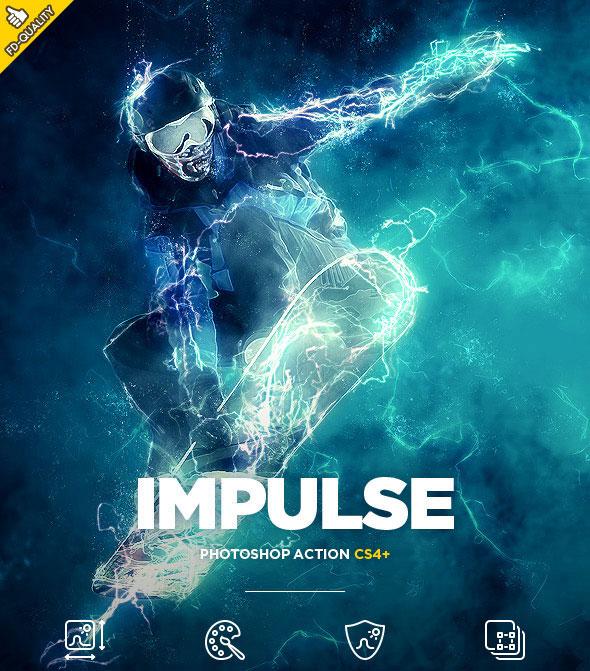Impulse CS4+ Photoshop Action