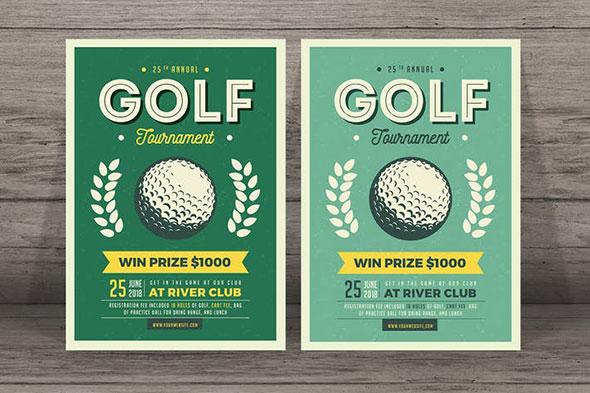 Vintage Golf Flyer