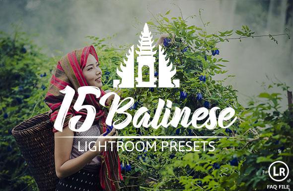 15 Balinese Pastel Premium Presets For Lightroom