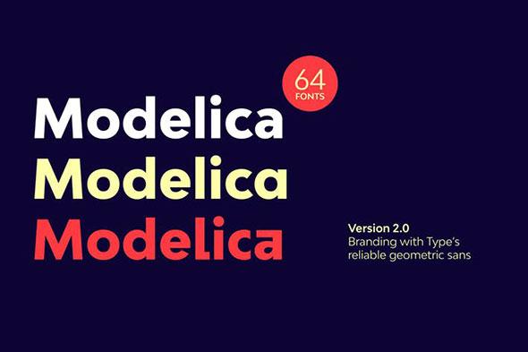 Bw Modelica Font Family