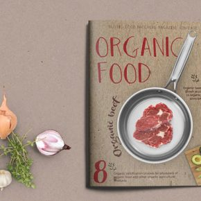 20 Awesome Food Magazine Templates - InDesign & PSD