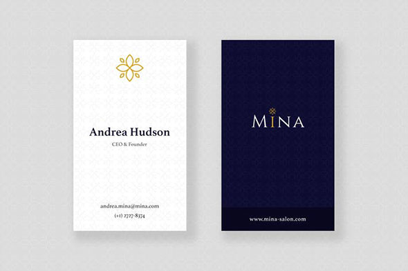 Mina Beauty - Business Card